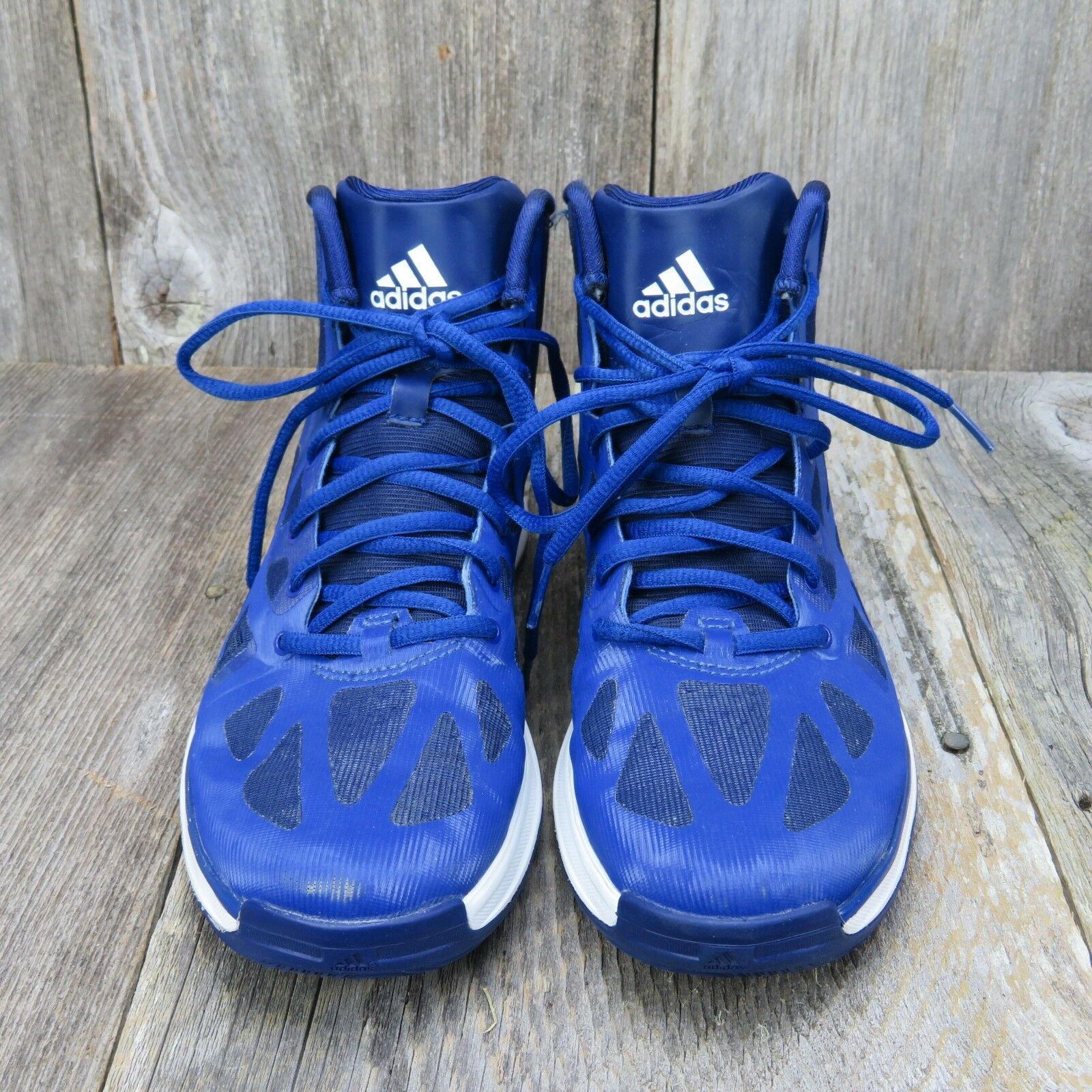 Adidas Crazy Shadow 2 Mens Size 6.5 Basketball shoes Q33383 2013 bluee White