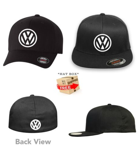 Volkswagen VW Motor  FLEXFIT HAT CURVED or FLAT BILL  ***FREE SHIPPING in BOX***