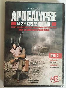 Apocalypse-la-seconde-guerre-mondiale-DVD-2-episode-3-et-4-DVD-NEUF-SOUS-BLISTER
