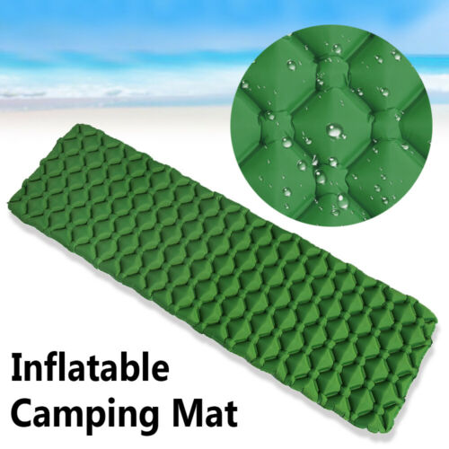 Hiking Ultralight Portable Sleeping Pad Air Mattress Inflatable Camping Mat
