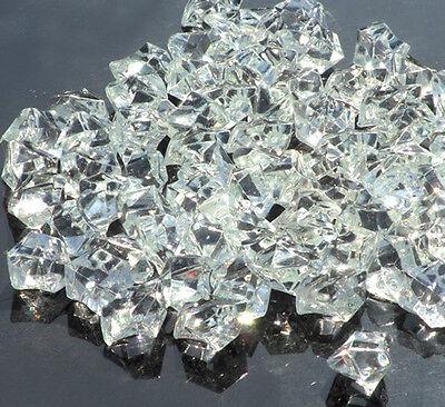 40/160pcs Big Acrylic Crystal Stone Home/Wedding Decoration Ice Rocks Upick E06