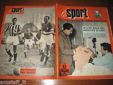 LO SPORT 1952/47=FOTO POSTER INTER 1952/53=FAUSTO COPPI=PAROLA=PIOLA=MANGIAROTTI
