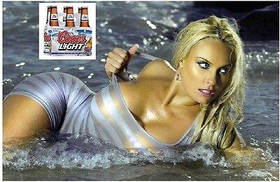Keystone Light Beer Model Refrigerator Toolbox Magnet