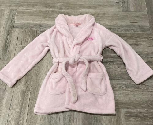 Victoria's Secret XS Pink Robe Angel Embroidered P