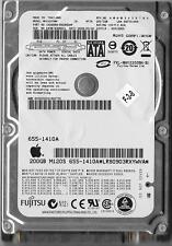 FUJITSU MHY2200BH 200GB SATA HARD DRIVE P/N: CA06889-B42800AP  FW: 0081000D