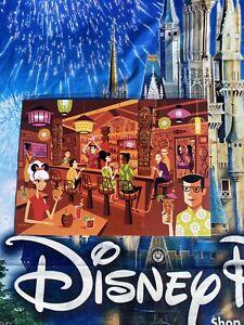 "New 2020 Disney Parks SHAG Trader Sam/'s In The Enchanted Tiki Bar 5x7"" Postcard"