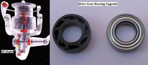 1000GTM-4000GTM Shimano drive gear bearing upgrade SUPER AERO 1000GT-4000GT