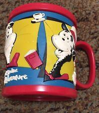 Dr. Seuss Cat in the Hat Off Mug Universal Studios Islands Of Adventure