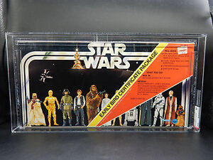 AFA-80-Star-Wars-EARLY-BIRD-Certificate-package-SEALED-set-vintage-RARE-Unused