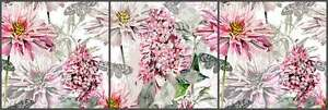 Ceramic-Tile-Mural-Backsplash-Mysak-Flowers-Floral-Strip-LM2-004