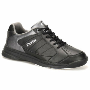 0a10dda179 Details about Dexter Ricky IV Black Alloy Men s Bowling Shoes Choose Your  Size Fast Ship