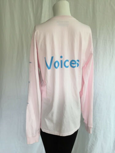 donna e T a da lunga rosa calda manica per shirt esterno ECCqgBfwA