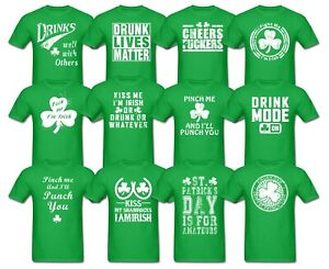 8ce07449443ccf St Patricks Day Drinking Tshirts Offensive Funny Beer Paddys Fathers ...