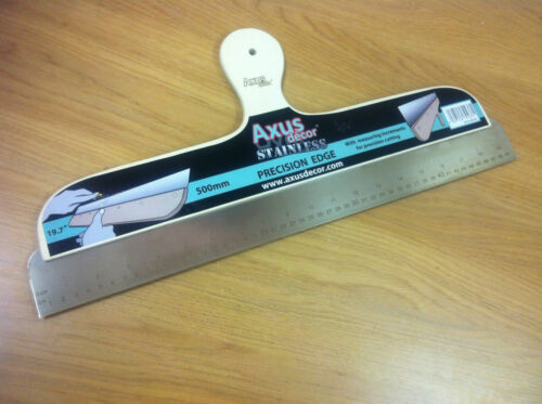 Axus décor papier peint inox mesure precision cutting edge