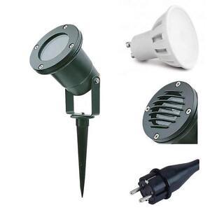 Gartenstrahler-mit-Erdspiess-IP65-LED-Licht-Strahler-Aussenstrahler-Spiessstrahler