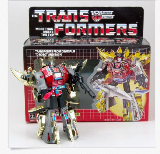 Transformers Reissue G1 TRIPLE CHANGER ASTROTRAIN MISB ACTIONS FIGURE