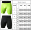 Men Compression Leggings Sport Shorts Pants Base Layer Stretch Trouser Fitness