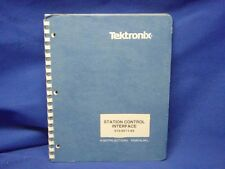 Tektronix Station Control Interface 015-211-03 Manual