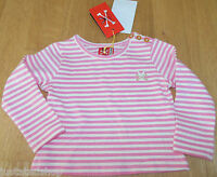 No added sugar baby girl top 3 m, 6 m BNWT designer pink stripe