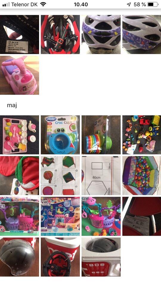 Blandet legetøj, Slot Bil. mm, Blandet