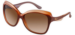 Authentic Salvatore Ferragamo Women's Sunglasses SF706S 261 - Made in Italy