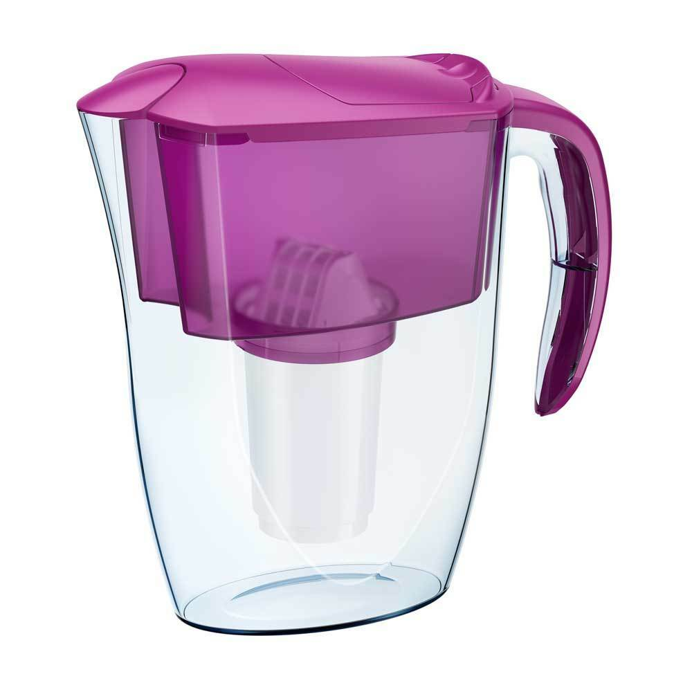 Aquaphor prestige cerise 2.8 l carafe d/'eau filtrante bactéricide additif 300 litres
