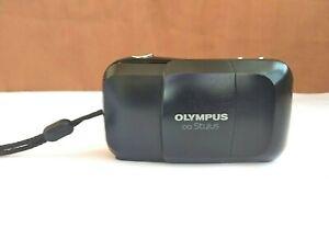 vintage-olympus-mju-1-35mm-point-amp-shoot-film-camera-sell-for-part-or-repair