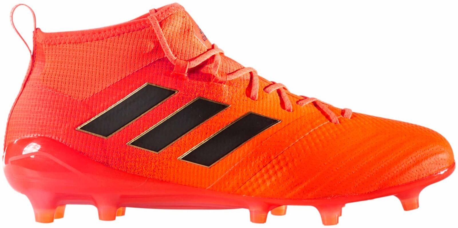 Adidas ACE 17.1 para hombres Terreno Firme botas De Fútbol-Naranja Tamaño 6 a 12