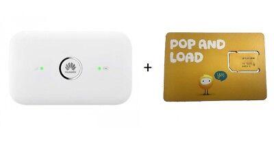 Huawei E5573 Dual antenna Unlocked modem 4GX + Optus 4GB Data sim card AU  STOCK 6901443119875 | eBay