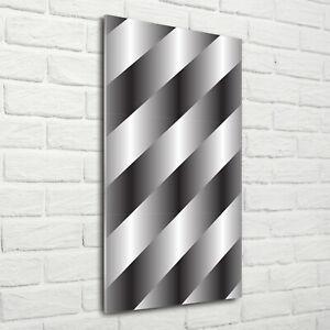 Wand-Bild-Kunstdruck-aus-Acryl-Glas-Hochformat-70x140-Abstrakte-Streifen