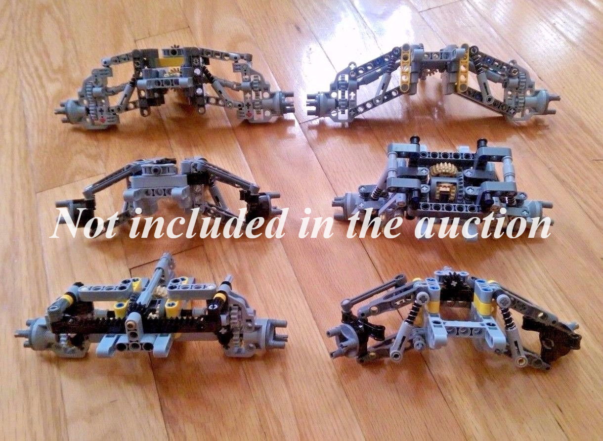 LEGO Technic - Front Drive + Steering + Independent Suspension Suspension Suspension  - new parts 091ce1