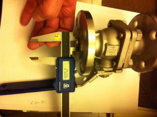 "1"" Flanged Ball Valve 25mm Bore, 316 stainless steel"