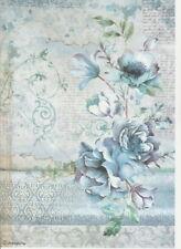 Rice paper decoupage ARS000013 napkin vintage Venice supplies craft Milotto