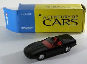 Solido-Escala-1-43-Chevrolet-Corvette-C4-Negro-Coche-Diecast-modelo-Corgi