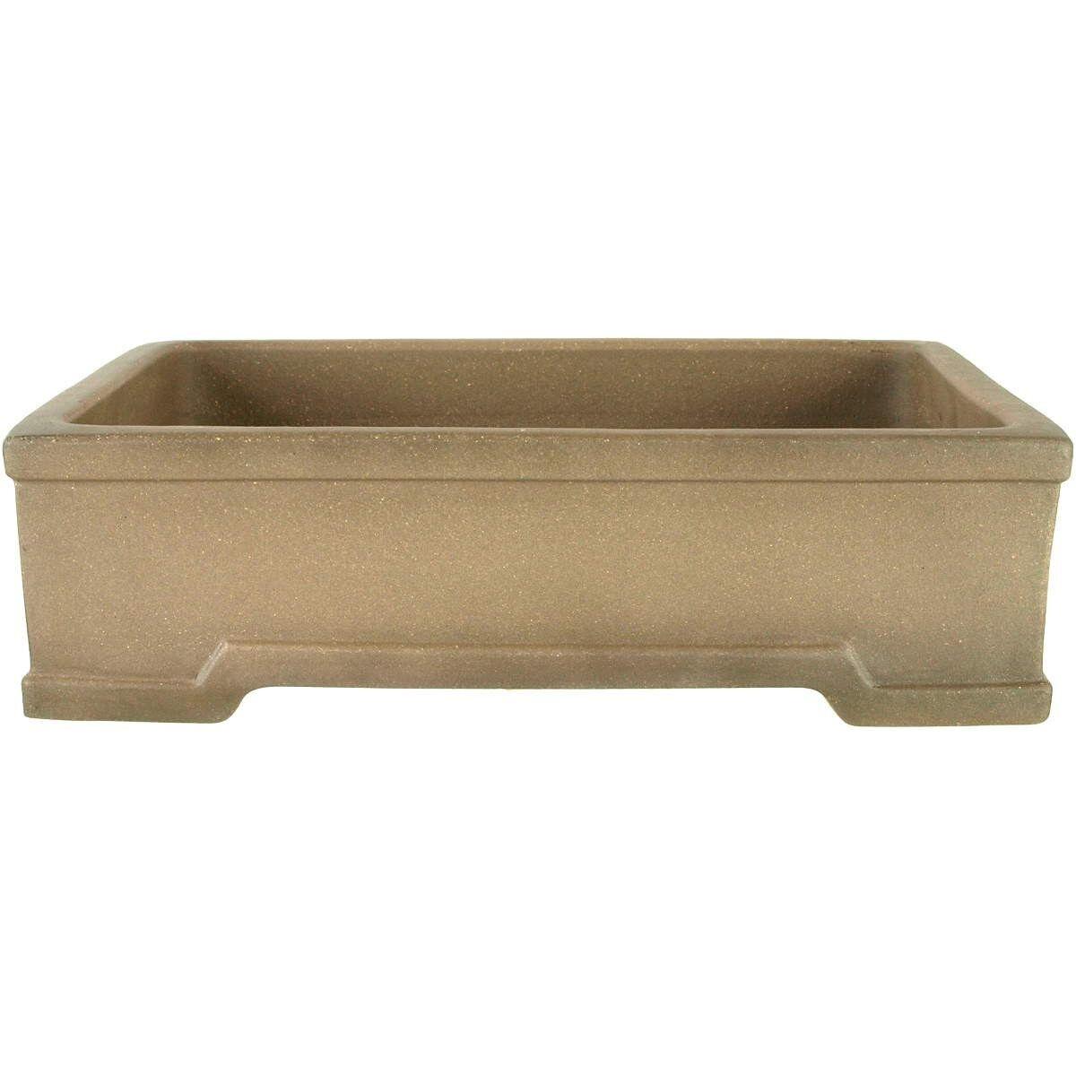 Bonsai Pot 35.5x26.5x10cm Antique gris Rectangular unglaced H36161AG