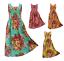 100-Cotton-Long-Boho-Maxi-Dress-Sleeveless-Party-Evening-Size-14-16-18-20-22-24 thumbnail 1