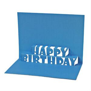Happy Birthday Alphabet Metal Cutting Dies For DIY Scrapbooking Album Paper /_DM