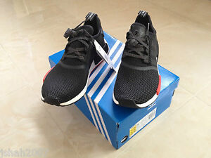 c291605052aa1 Image is loading FOOTLOCKER-X-ADIDAS-NMD-R1-RUNNER-BLACK-RED-