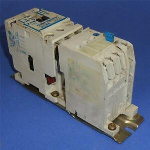 Cutler hammer 18a 110 120v coil size 0 motor starter for Cutler hammer motor starter