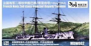 French-2nd-class-ironclad-Bayard-Turenne-Doggy-Industries-resin-amp-upgrades
