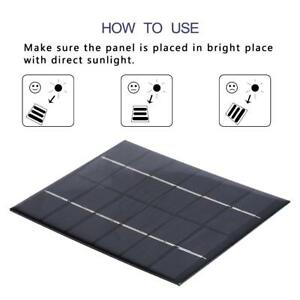 Portable 2w 6v 330ma Polysilicon Diy Solar Power Panel Battery Panel Kit For Light Battery Cell Phone Toys Chargers Kit Accessories & Parts Chargers
