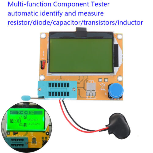 All-in-1 component tester transistor diode capacitor resistor inductor meter BJ