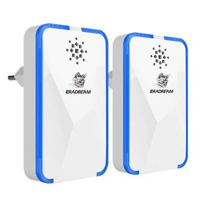 Eradream Ultrasonic Electromagnetic Pest Repeller - Electronic Pest Control  Repe 781573340389 | eBay