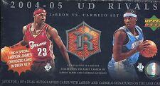 2004-05 Upper Deck UD Rivals LeBron vs. Carmelo FACTORY SEALED 31-Card Set AUTO?