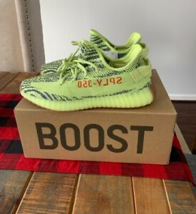 d83a513fe Adidas Yeezy Boost 350 V2 Semi Frozen Yellow B37572 YZY Kanye ...