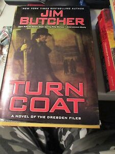 Turn Coat(The Dresden Files, Book 11) by Jim Butcher, First Paperback Print