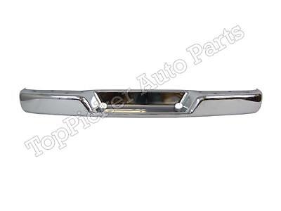 Rear Bumper Face Bar Chrome Fit 1996-2015 Chevy Express Gmc Svana 1500 2500 3500