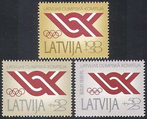Latvia-1991-Olympic-Games-Olympics-Committee-Rings-Sports-Games-3v-n40955