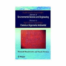 English/Spanish Dictionary of Environmental Science and Engineering-ExLibrary