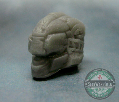 "MH040 Custom Cast male head use w//3.75/"" 1:18 HALO GI Joe Star Wars Acid Rain"
